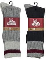 Kodiak Men's 4 Pairs of Soft Wool Thermal Work Socks, US Shoe Size 7-12