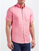 Gant Washed Pinpoint Oxford Short Sleeve Shirt