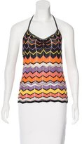 M Missoni Sleeveless Patterned Top