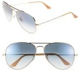 Ray-Ban 'Large Original Aviator' 62mm Sunglasses
