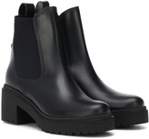 Moncler Vera leather ankle boots