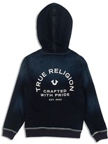 True Religion Boys' French Terry Denim Hoodie - Sizes S-XL