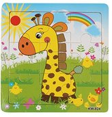 Wooden Giraffe Jigsaw Toys For Kids FUNIC Education And Learning Puzzles Toy