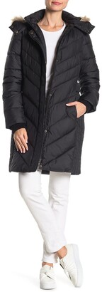 Larry Levine Hooded Puffer Jacket