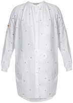 Jupe By Jackie Kahano Embroidered Cotton Dress - Womens - White Multi