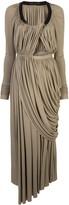 Proenza Schouler draped long dress