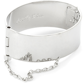 Rebecca Minkoff Handcuff with Chain Bracelet