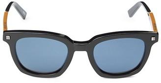 Ermenegildo Zegna 50MM Square Sunglasses