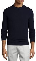 Theory Donners Cashmere Crewneck Sweater, Eclipse