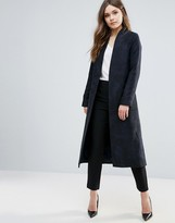 Helene Berman Longline Edge To Edge Crepe Duster