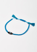 EYE M by Ileana Makri Dark Sky Blue Cord Bracelet