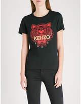 Kenzo Chinese New Year Tiger cotton-jersey T-shirt