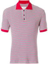 Maison Margiela striped polo shirt