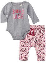 Jessica Simpson Girls' 2Pc Bodysuit & Pant Set