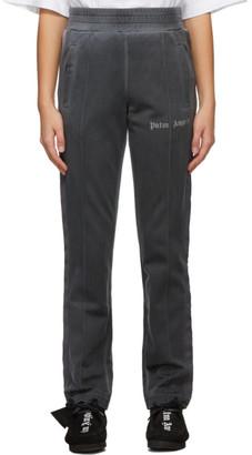 Palm Angels Grey Garment-Dyed Lounge Pants