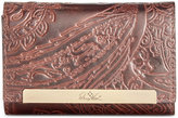 Patricia Nash Burnished Tooled Lace Cametti Wallet
