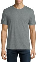 Alexander Wang Classic Short-Sleeve Crewneck T-Shirt, Gray