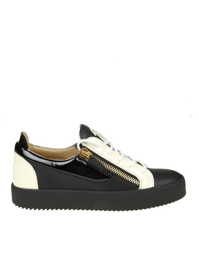 Giuseppe Zanotti may Sneakers In Black And White Leather