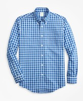 Brooks Brothers Non-Iron Milano Fit Bold Gingham Sport Shirt