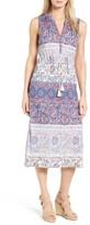 Lucky Brand Women's Floral Print Midi Dress