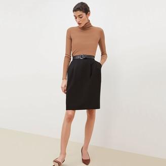 M.M. LaFleur The Remy SkirtWashable Wool Twill