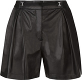 Leisuring Leather Shorts