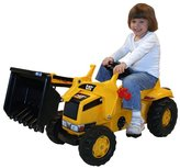 Kettler CAT Kid Tractor with Trailer