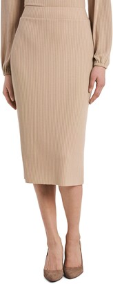 Vince Camuto Rib Knit Pencil Skirt