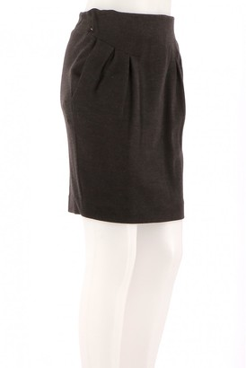 Vanessa Bruno Brown Wool Skirts