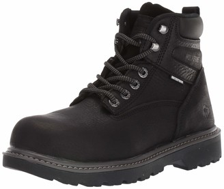 "Wolverine Floorhand Steel-Toe 6"" Work Boot Black"