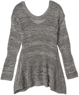 Olive + Oak Olive & Oak Grey Knit Top