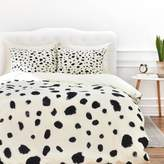 DENY Designs Rebecca Allen Miss Monroes Dalmatian King Duvet Cover