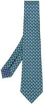 Bulgari printed tie