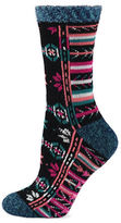 Sperry Fair Isle Cabin Cozy Socks