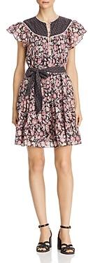 Rebecca Taylor La Vie Patchwork Floral Dress