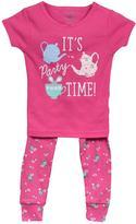 Carter's Girl's 4-Piece Cotton Pyjama