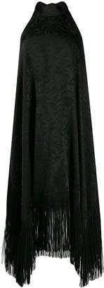 MSGM Fringed Halter Neck Dress