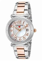 Swiss Legend Women's 'Bel Air' Swiss Quartz Stainless Steel Casual Watch, Color:Two Tone (Model: 16330SM-SR-22)