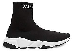 Balenciaga Men's Speed Logo Sock Trainers