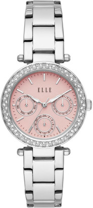 Elle Marais Silver-Tone Analogue Watch