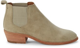 Frye Carson Suede Chelsea Boots