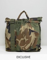 Reclaimed Vintage Camo Tote Bag