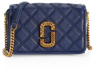 Marc Jacobs The Status Naomi Leather Crossbody Bag