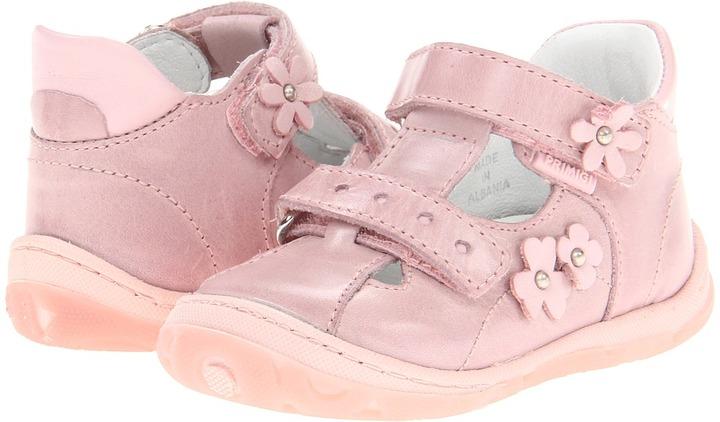 Primigi Mikayla-E (Infant/Toddler) (Pink) - Footwear