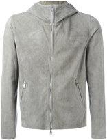 Giorgio Brato hooded jacket - men - Leather - 46
