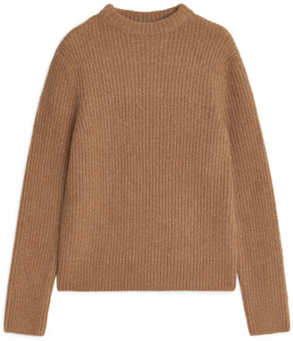 Arket Crew-Neck Ribbed Jumper