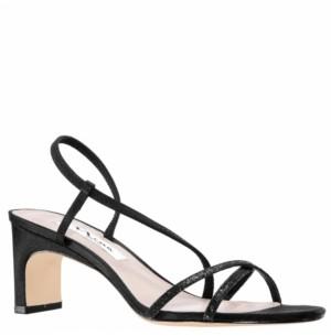 Nina Women's Gizel Low Heel Strappy Sandal Women's Shoes