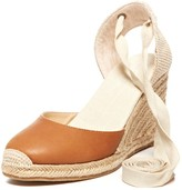 Sole Society Tall Leather Wedge Espadrille Wedge