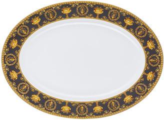 Versace I Love Baroque Nero Platter