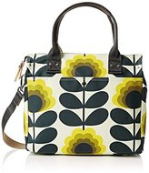 Orla Kiely Summer Flower Stem Zip Messenger